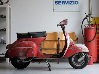Vespa 150 Sprint - Project